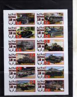 ERITREA 2012 GERMAN ARMY WORLD WAR SOUVENIR SHEET IMPERF. GUERRA MONDIALE FOGLIETTO NON DENTELLATO MNH - Etichette Di Fantasia