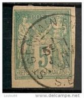 Timbres - France (ex-colonies Et Protectorats) - Emissions Générale - Sages - 5 C - N° 31 - Oblitéré St Germain En Laye