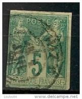 Timbres - France (ex-colonies Et Protectorats) - Emissions Générale - Sages - 5 C - N° 31  - Oblitéré -