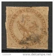 Timbres - France (ex-colonies Et Protectorats) - Emissions Générale - Aigle Impérial - 10 C - N° 3  -