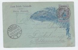 Brazil/Germany POSTAL CARD 1897