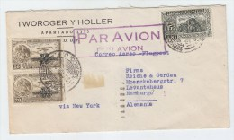 Mexico/Germany AIRMAIL COVER VIA NEW YORK 1936