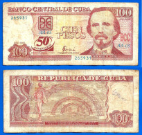 Cuba 100 Pesos 2000 Commemo 50 Ans Kuba Pesos Skrill Bitcoins OK - Cuba