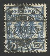 Germany, 20 Pf. 1889, Sc # 49, Mi # 48, Used, Stettin - Germany
