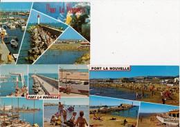 3 CPM   De PORT  LA NOUVELLE    (11) -  Vues Diverses - Port La Nouvelle
