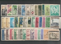BELGIQUE Année 1966 N°Y/T : 1360/1405** Côte  : 28,00 €
