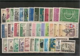 BELGIQUE Année 1966 N°Y/T : 1360/1405**