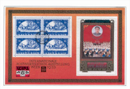 Stamp On Stamp A51 MNH 1981 S/s Music Pioneers Scouts CV 7,50 Eur - Stamps On Stamps