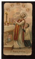 ST48  Santini, Image Pieuse, Holy Card - SAN ANDREA AVELLINO - Devotion Images