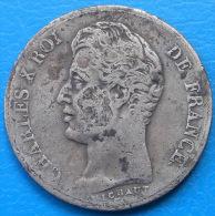 Charles X 1 Franc 1830 A PARIS - France
