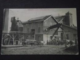 FRESSAIN (Nord) - La FABRIQUE De SUCRE De M. LANVIN - Attelage - Animée - Voyagée Le 26 Novembre 1910 - France
