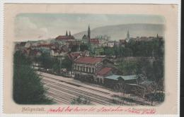 Th058/ Heiligenstadt, Gesamtansicht Mit Bahnhofsgebäude Im Vordergrund (Solheilbad) 1904 - Heiligenstadt