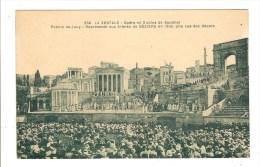 BEZIERS - HERAULT - LES ARENES - THEATRE - LA VESTALE - DECORS - POEME DE JOUY - Beziers