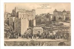 BEZIERS - HERAULT - LES ARENES - THEATRE - LES HERETIQUES - DUO DE DAPHNE ET BELISSENDE - Beziers