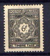 ALGERIE - N° T42* - TAXE - Nuevos