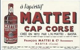 Buvard Mattei Cap Corse - Liqueur & Bière