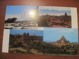 Myanmar. Pagan Pagodas And Temples. Quart-bloc View. Mint. - Myanmar (Burma)