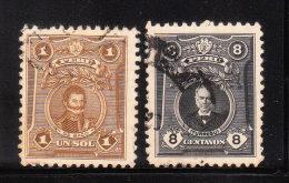 Peru 1924-29 Famous Person 2v Used - Peru
