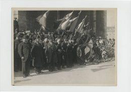 Hommage De La Ligue Des Patriotes Belges Au Soldat Inconnu Avril 1921 Photo Henri Manuel Commemoration - Krieg, Militär