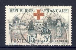 TIMBRE OBLITERE*  N°156  Avec Charnière 1918  SCANS CONTRACTUELS RECTO-VERSO - Usados