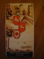 Shell Strassenkarte Nr. 7, Hannover, Ca. 1930 !! - Strassenkarten