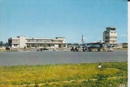 CPSM AEROGARE DE DINARD PLEURTUIT  AVION AIR TERMINAL 1965 - 1946-....: Era Moderna