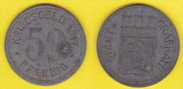 Weimar State Germania Notgeld  50 Pfenning 1917  Stadt Grafrath - Monetari/ Di Necessità