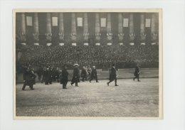 Millerand Devant La Chambre  Poilu Inconnu Au Pantheon Photo Henri Manuel 1920 - War, Military
