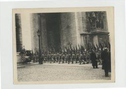 Cinquantenaire Republique Novembre 1920 Les Poilus Defilent Sous Arc De Triomphe Paris France Commemoration - War, Military