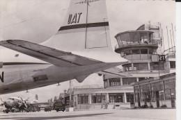 CPSM LE BOURGET  AEROPORT PARIS SUPER DC 6 DE L U A T AVION ED PI BEAU PLAN - 1946-....: Moderne