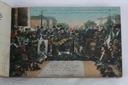 Old France Postcard Album/ Folder -Paris - 48 Cartes Postales Detachables/ Detachables Views - Francia