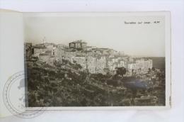 Old France Real Photo Postcard Album/ Folder -Souvenir Des Gorges Du Loup - 10 Detachables Views - Francia