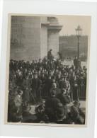 Roi De Suede Gustave V 5 Tombe Du Poilu Inconnu Photo Henri Manuel 1921 - War, Military