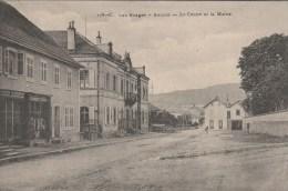 Anould  - Le Centre Et La Mairie  - Scan Recto-verso - Anould