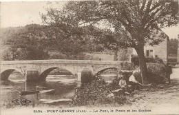 Jura : Port-Lesney, Le Pont, La Poste Et Les Roches - France