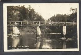 Jura : Nozeroy, Pont Des Anes, Carte Photo - Other Municipalities