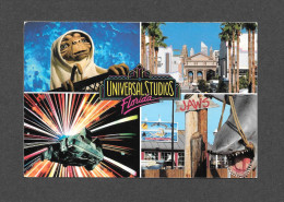 ORLANDO - FLORIDA - FLORIDE -  WALT DISNEY WORLD - MULTIVIEWS UNIVERSAL STUDIOS - BACK TO FUTURE - JAWS - ET - U.C.S. -