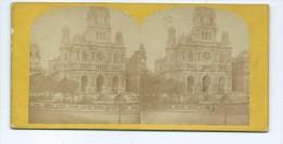 Vues Stéréoscopiques Photo Sur Carton - Paris La Trinité - Stereoscopic