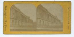 Vues Stéréoscopiques Photo Sur Carton - Paris Colonnade Du Louvre - Photos Stéréoscopiques