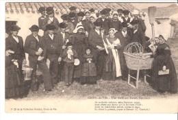 Croix-de-Vie-(Saint-Gille S-Vendée)-1904-Une Noce Aux Marais Vendéens-Cachet Ambulant Et Pantin (Seine)-voir Scan - Saint Gilles Croix De Vie