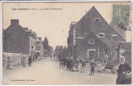 Cpa-35-lanhelin-animée-route De Bonnemain-edi Rousseliere N°4328 - France