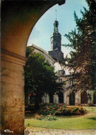 ABBAYE DE VALLOIRES CLOCHER VU DU CLOITRE  SCANS RECTO VERSO - Autres Communes