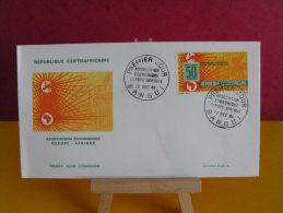 FDC- Association Économique Europe Afrique - Bangui - 19.12.1964 - 1er Jour, République Centrafricaine - Central African Republic