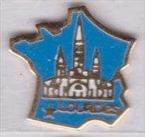 Beau Pin's , Ville De Lourdes , Carte De France - Cities