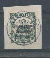 TOGO N°33 Oblitéré T.B. SUR FRAGMENT - Togo (1914-1960)