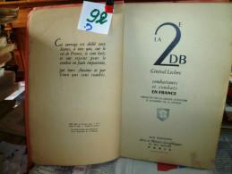 LA DEUXIEME  DB  GENERAL LECLERC   r�f  92-3