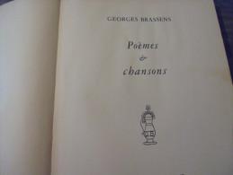 Georges Brassens -poemes Et Chansons Avec Partitions - Musique
