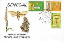 Senegal 1982 Dakar Insect Pest Nuisible Damaging FDC Cover - Senegal (1960-...)