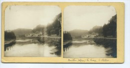Vues Stéréoscopiques Photo Sur Carton - Bouillon La Semois , Le Chateau - Photos Stéréoscopiques
