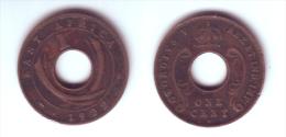 East Africa 1 Cent 1922 H - Colonie Britannique